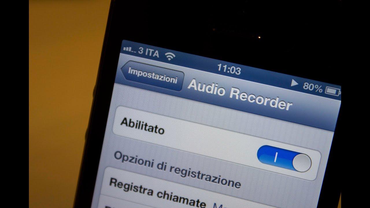 Iphone Callrecorder Il Tweak Per Registrare Le Chiamate Su Iphone Youtube