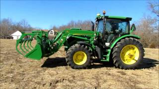 2012 John Deere 6125R MFWD tractor for sale | sold at auction March 26, 2014