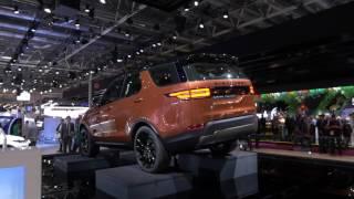 Land Rover Discovery 2017 // Париж 2016 // АвтоВести Online(Новое поколение внедорожника Discovery. Первый взгляд на автомобиль на автосалоне в Париже. Наш сайт: http://auto.vesti.ru., 2016-10-05T08:48:28.000Z)