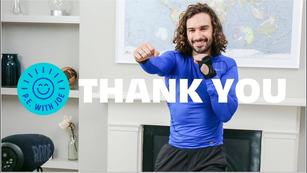 THANK YOU | One Year of PE With Joe