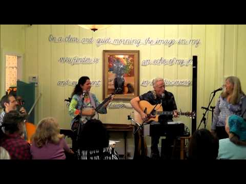 "David Beede & Janet  Rucker do ""Big Dog Tale"" by Mocha a dog & David a human"