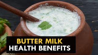 Butter Milk Health Benefits - Health Sutra