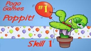 Pogo Games ~Poppit #1 - Skill 1