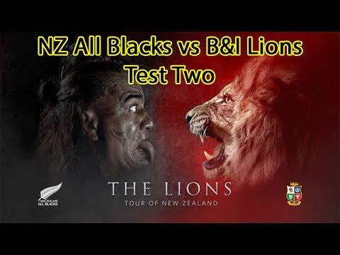 New Zealand All Blacks vs British & Irish Lions - Test Two - Rugby Challenge 3