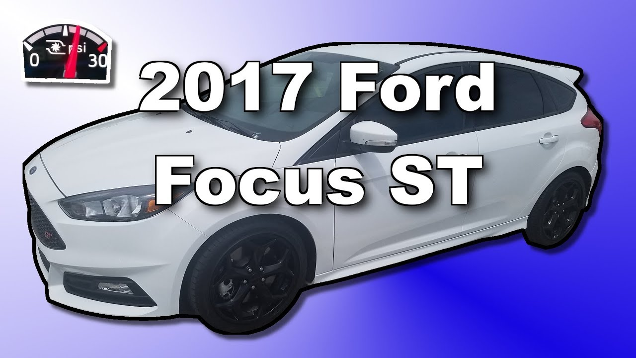 2017 Focus St How Much Turbo Boost Stock