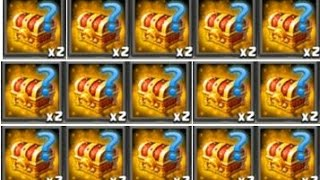 Clash of Lords 2 - MASSIVE HERO TRIAL CHEST OPENING!!! Bronze Silver Gold Hero Trial Chest