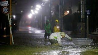 NO COMMENT   Derrubios e inundaciones en Japón por el tifón Hagibis