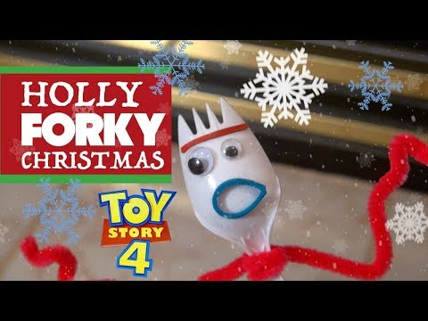 Toy Story 4 Holly Jolly FORKY Christmas | Musical Dance