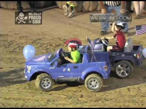 Power Wheels Demo Derby #2 Kings of Karnage Tyler County Speedway July 2, 2016