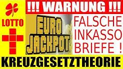 Eurojackpot !!! Unseriöse Inkassobriefe im Umlauf - Top 100 - Gewinnspielen oder Eurojackpot 49