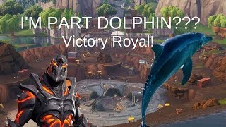I'M PART DOLPHIN? | Fortnite with KGB | Ruin Skin Unlocked |