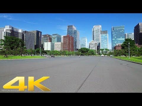 Walking around Imperial palace plaza, Tokyo - Long Take【東京・皇居前広場】 4K