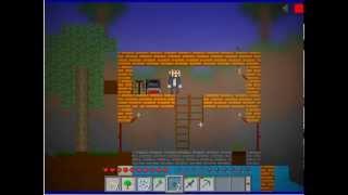 Maincraft 2d или Mini Bloks с Дентосом серия2