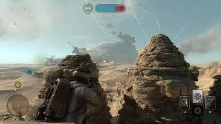 Star Wars Battlefront- Watching Star Destroyer Fall