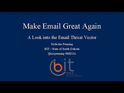 Make Email Great Again – Lessons Learned From A Year Of Malicious Emails
