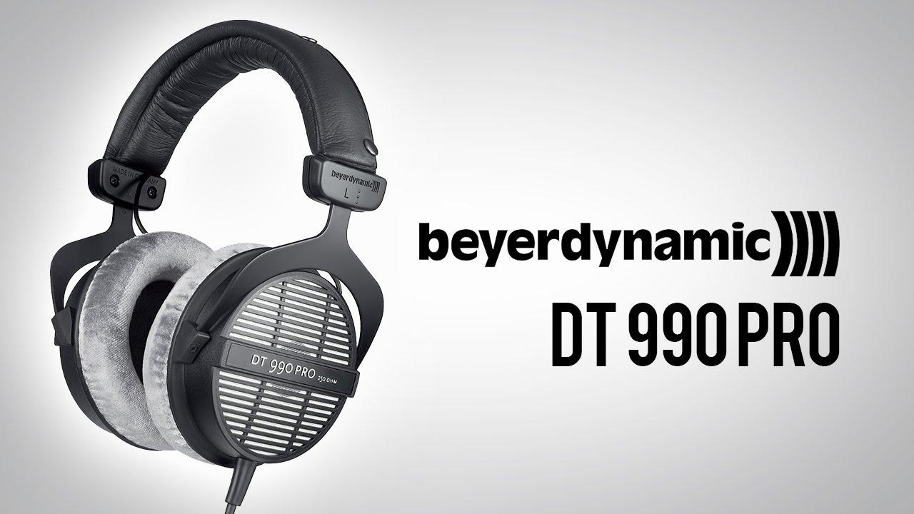 beyerdynamic dt 990 pro youtube. Black Bedroom Furniture Sets. Home Design Ideas