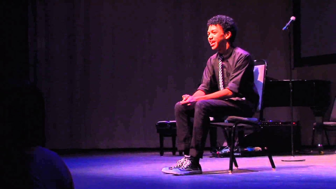 Justice Smith Spoken Theater Monologue From The