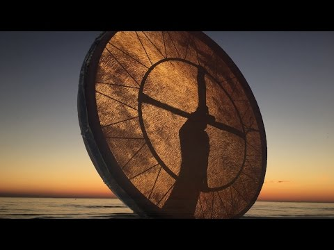 Real Shaman Healing Drum Part 2! 30 min.  shamanic journey