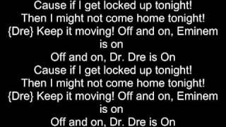 If I get Locked Up Tonight - Eminem (Lyrics)