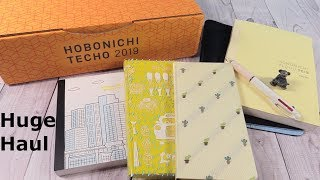 Hobonichi 2019 Planner Journal Haul Unboxing   PaulAndShannonsLife