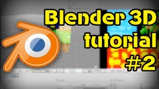 Туториал по Blender 3D #2: Текст и текстурирование