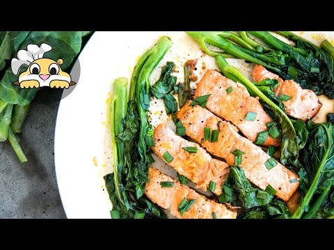 Tamari Glazed Salmon – Easy Salmon Recipes (맛있는 연어조림)