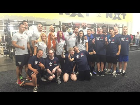 WWE partners special olympics