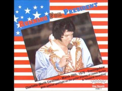 Elvis Presley: Running for President: March 20th, 1976 Full