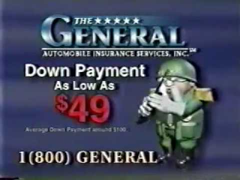 The General Automotive Insurance Commercial - 2001