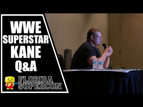 WWE Superstar Kane Q&A at Florida Supercon 2015