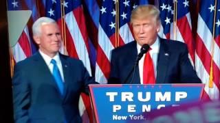 Trumps Power Hand Shake