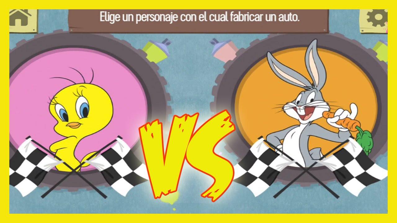 piolinbugs bunny y scooby doo carrera de cochesjuego para niosgames for kids