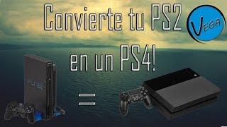 Unlaunch estilo PS4 + Instalacion para PS2