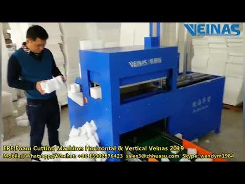 Veinas EPE Foam Die Cutting/ Punching Machine for Wine ...