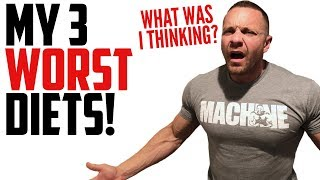 3 Worst Diets I've Ever Tried | Tiger Fitness