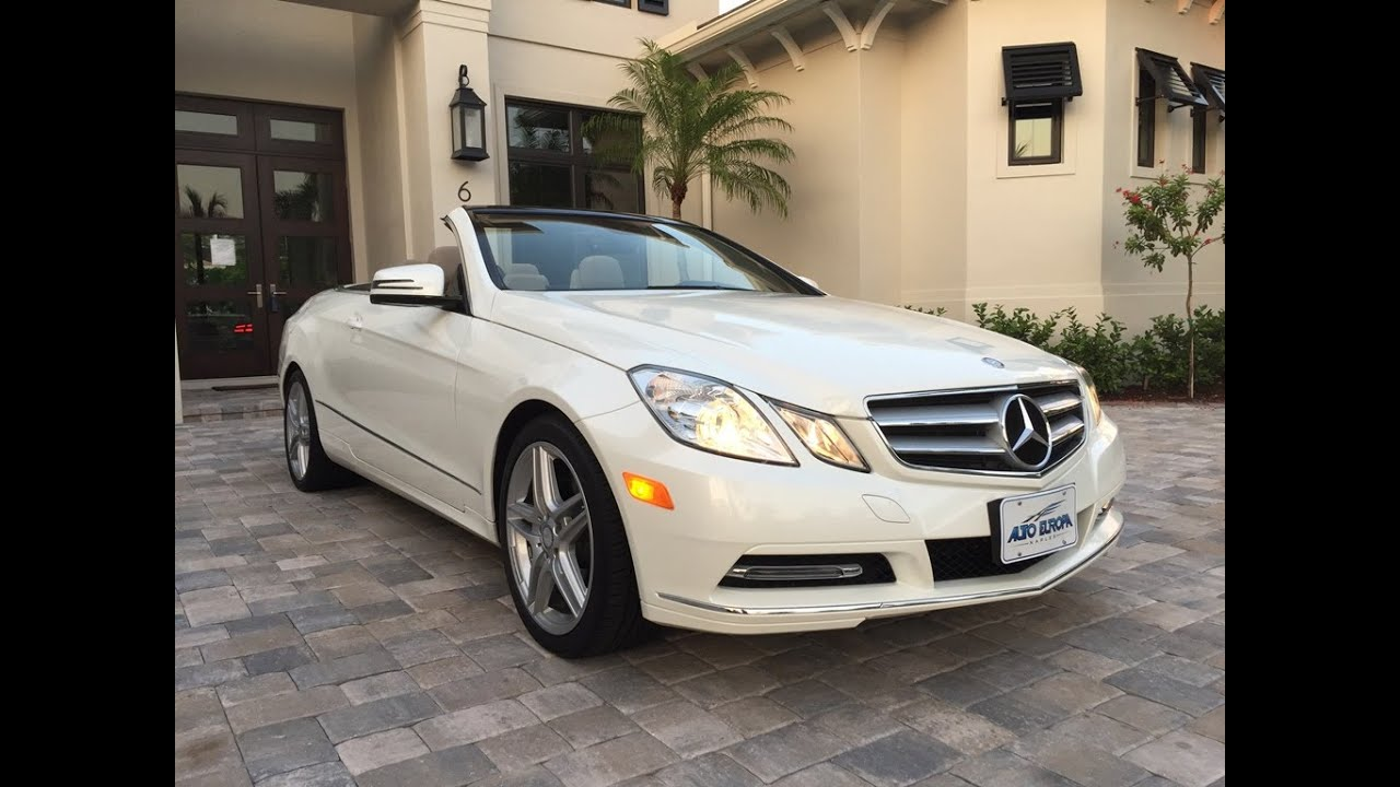 2013 mercedes benz e350 convertible for sale by auto