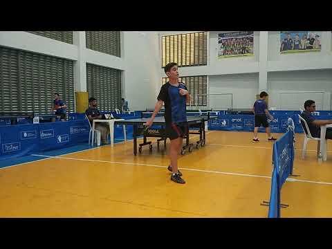 3º Etapa Campeonato Cearense de Tênis de Mesa - Absoluto D - Davi Vidal x Gabriel Gomes