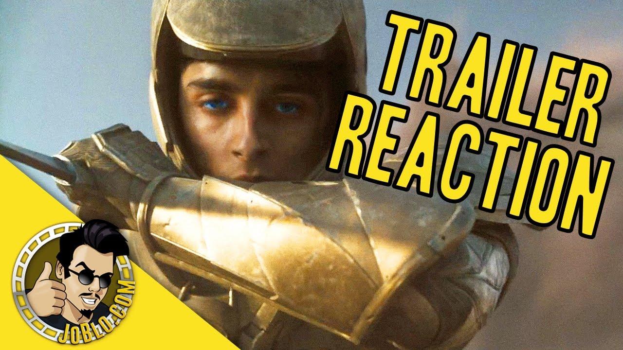 DUNE Official Trailer 2 REACTION