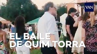 Quim Torra baila ska en el Folklife Festival