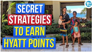 8 Strategies To Earn Hyatt Points For Free Award Nights