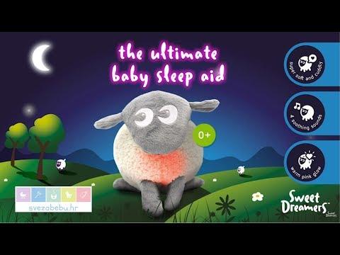 Pogledajte kako SweetDreamers ovčica Ewan uspavljuje dijete