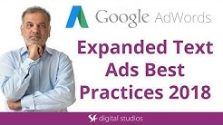 Expanded Text Ads Best Practices