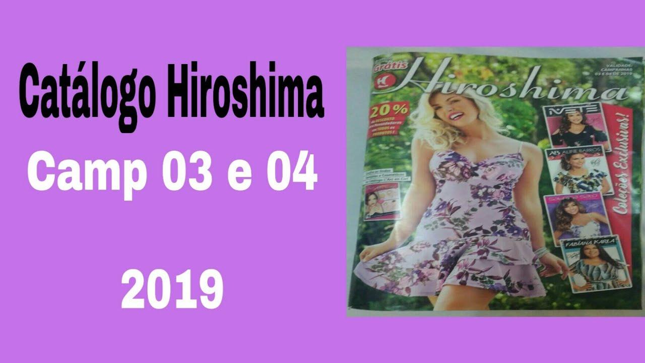 a2b277465 Hiroshima catálogo Hiroshima campanha 03 e 04 /2019 Março e Abril -  detalhada - Cláudia Fontenelle