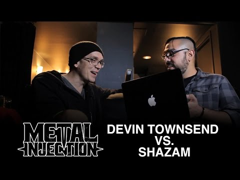 Can DEVIN TOWNSEND Name His Own Songs Faster Than Shazam? We Investigate! | Metal Injection
