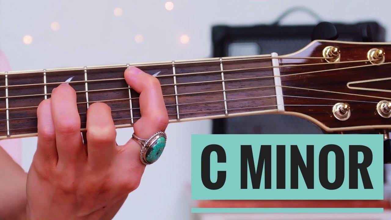 C minor Cm Chord   Beginner Guitar Lesson