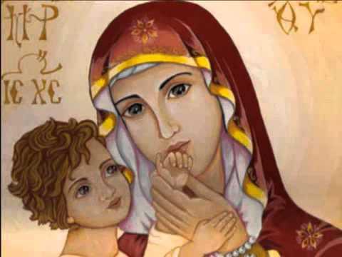 O Virgin Pure - Orthodox Byzantine Chant in English