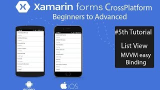 Xamarin Forms  ListView EasyWay[Tutorial 5]