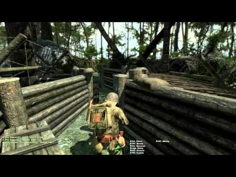 ArmA 2 - Hell in the Pacific - 15th MEU - Peleliu Defence Part 1/3