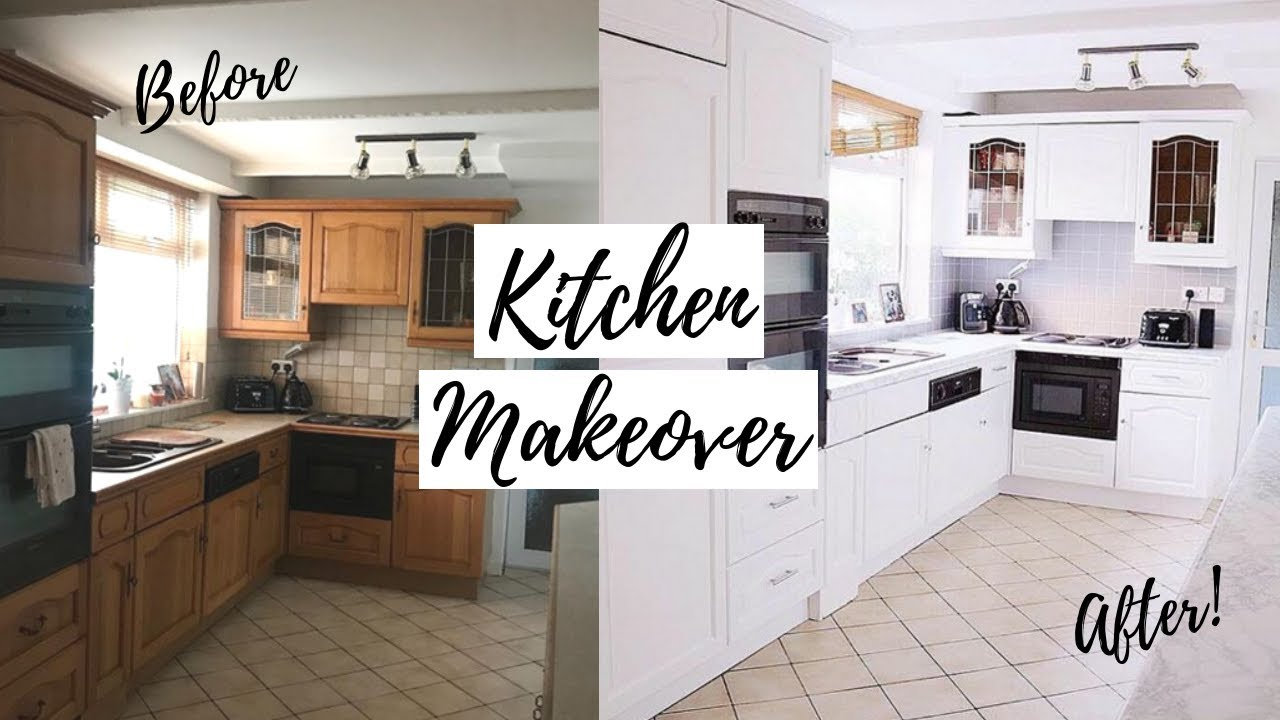 100 DIY KITCHEN MAKEOVER | NEW KITCHEN