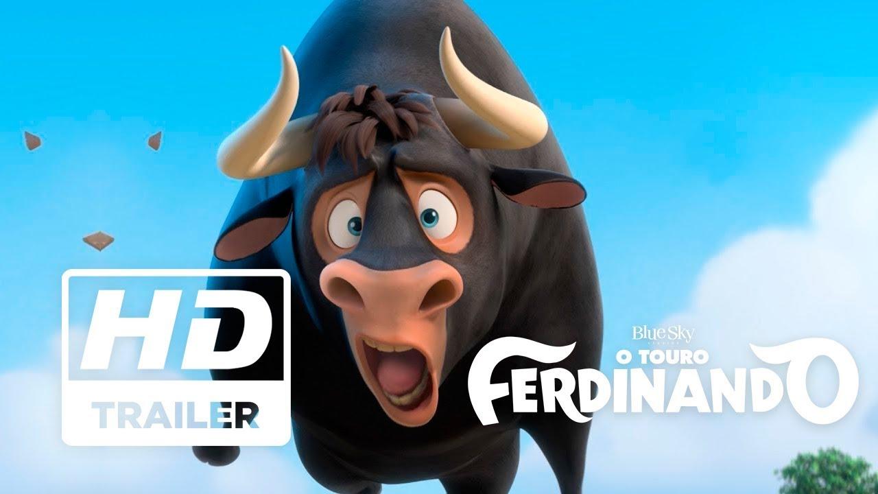 O Touro Ferdinando Trailer Oficial 1 Legendado Hd Youtube